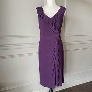 NWT Ralph Lauren Ruched Bodycon Dress